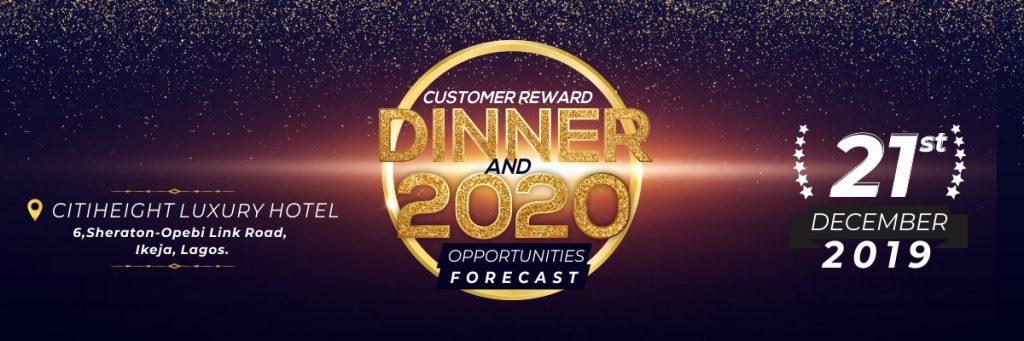Customer Reward Dinner