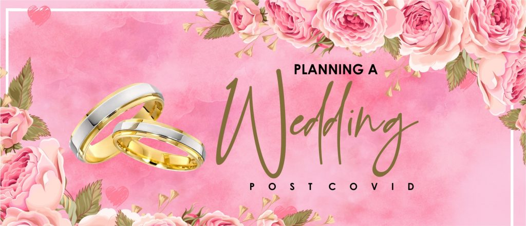 planning a wedding post covid