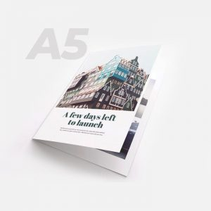 A5 Bi-fold Brochure