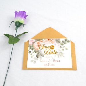 Save The Date A6 Sizes-Nukreationz.com.ng