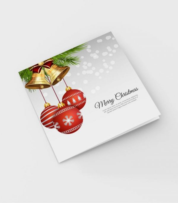 Square Christmas Cards-Nukreationz.com.ng